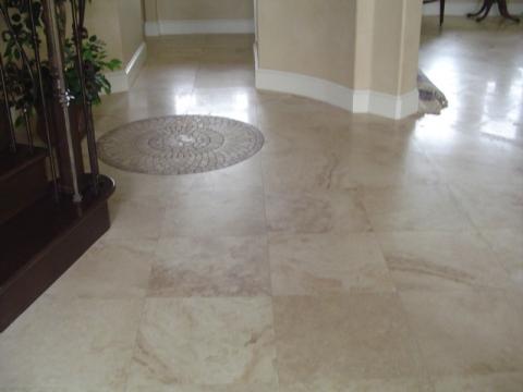Honed Travertine Floor Care Carpet Vidalondon